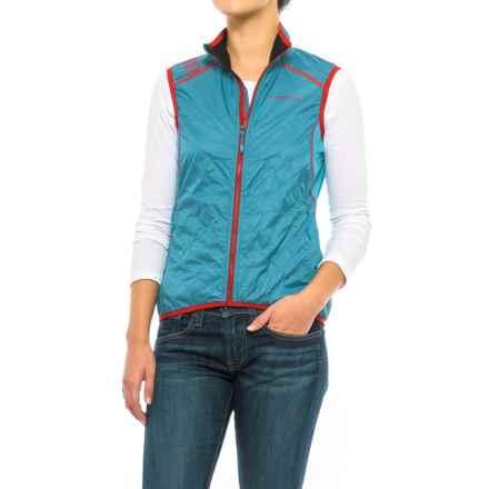 La Sportiva Hustle Vest - Insulated (For Women) in Blue Moon - Closeouts