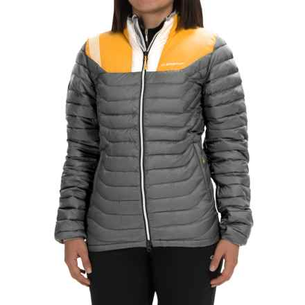 La Sportiva Kira Down Jacket - 700 Fill Power (For Women) in Mid Grey - Closeouts