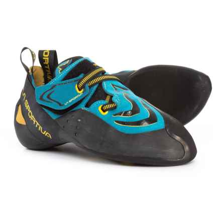 La Sportiva Made in Italy Futura Climbing Shoes (For Men and Women) in Blue - Closeouts