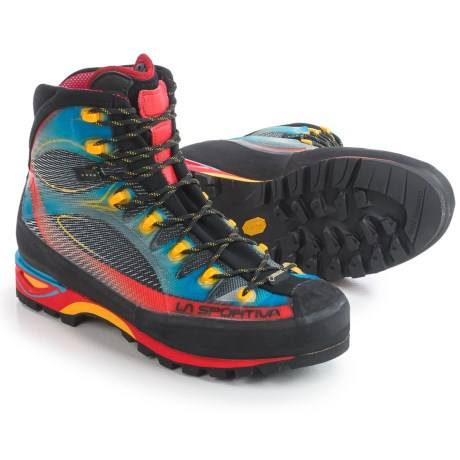 La Sportiva Made in Italy Gore-Tex® Trango Cube Mountaineering Boots - Waterproof (For Men) in Blue/Red