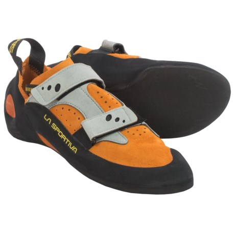 La Sportiva Made in Italy Jeckyl VS Climbing Shoes (For Men and Women) in Orange