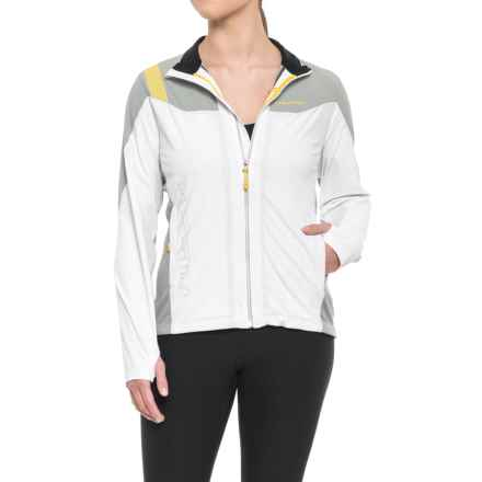 La Sportiva Maia Windstopper® Soft Shell Jacket (For Women) in White - Closeouts