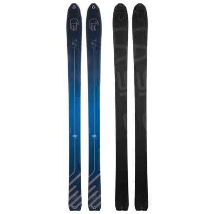 La Sportiva Mega LO5 Alpine Skis (For Men and Women) in Navy Blue - Closeouts