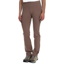 La Sportiva Mirage Pants - Slim Fit (For Women) in Brown - Closeouts