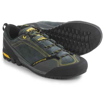 La Sportiva Mix Approach Climbing Shoes (For Men) in Black - Closeouts