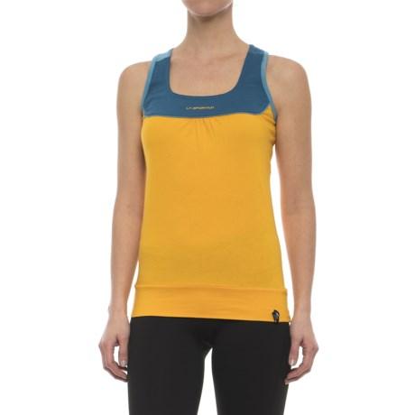 La Sportiva Momentum Tank Top - Organic Cotton, Racerback (For Women)