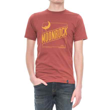 La Sportiva Moonrock T-Shirt - Short Sleeve (For Men) in Rust - Closeouts