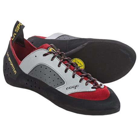 La Sportiva Nago Climbing Shoes (For Men) in Red