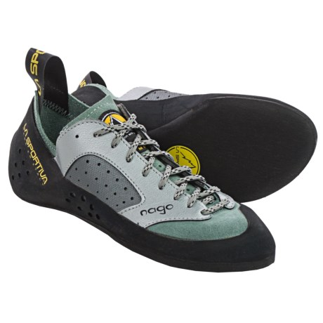 La Sportiva Nago Climbing Shoes (For Women) in Sage