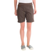 La Sportiva Oliana Shorts - Stretch Cotton Canvas (For Women) in Brown - Closeouts