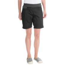 La Sportiva Oliana Shorts - Stretch Cotton Canvas (For Women) in Grey - Closeouts