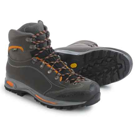 La Sportiva Omega Gore-Tex® Hiking Boots - Waterproof, Leather (For Men) in Grey/Rust - Closeouts