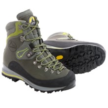 La Sportiva Pamir Hiking Boots - Leather (For Women) in Grey/Lime - Closeouts