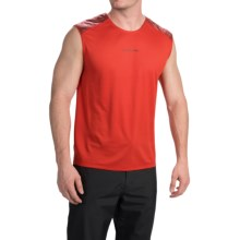 La Sportiva Peak Tank Top - UPF 50+ (For Men) in Rust Red - Closeouts