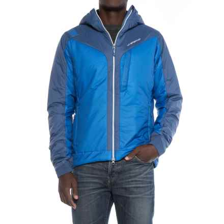 La Sportiva Pegasus 2.0 PrimaLoft® Hooded Jacket - Insulated (For Men) in Blue/Dark Sea - Closeouts