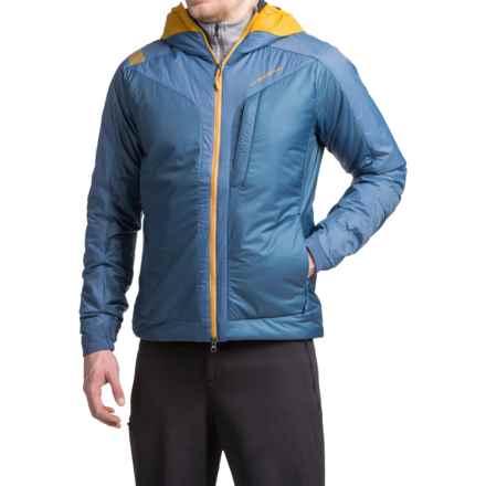 La Sportiva Pegasus 2.0 PrimaLoft® Hooded Jacket - Insulated (For Men) in Dark Sea - Closeouts
