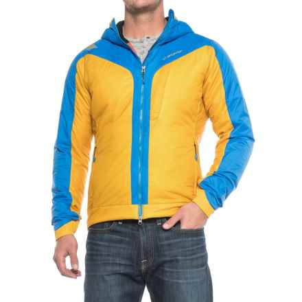 La Sportiva Pegasus 2.0 PrimaLoft® Hooded Jacket - Insulated (For Men) in Mustard - Closeouts