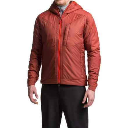 La Sportiva Pegasus 2.0 PrimaLoft® Hooded Jacket - Insulated (For Men) in Rust - Closeouts