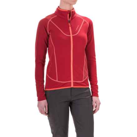 La Sportiva Polartec® Nimbus Fleece Jacket - Full Zip (For Women) in Berry - Closeouts