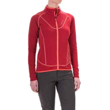 La Sportiva Polartec® Nimbus Fleece Jacket - Full Zip (For Women) in Berry - Closeouts