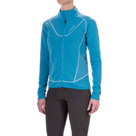 La Sportiva Polartec® Nimbus Fleece Jacket - Full Zip (For Women) in Blue Moon - Closeouts