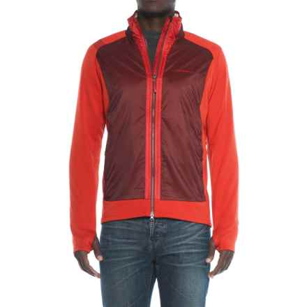 La Sportiva PrimaLoft® Spire Hybrid Jacket - Insulated (For Men) in Rust Red - Closeouts