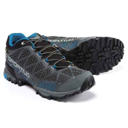 La Sportiva Primer Low Gore-Tex® Hiking Shoes - Waterproof (For Men) in Carbon/Blue - Closeouts
