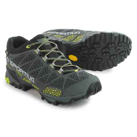 La Sportiva Primer Low Gore-Tex® Hiking Shoes - Waterproof (For Men) in Grey/Green - Closeouts