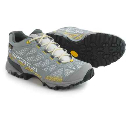 La Sportiva Primer Low Gore-Tex® Hiking Shoes - Waterproof (For Women) in Yellow/Mid Grey - Closeouts