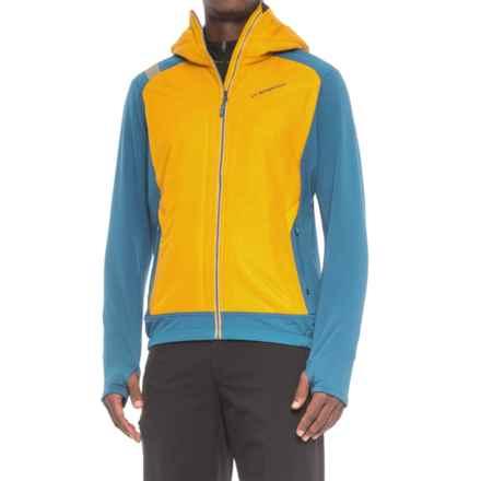 La Sportiva Primus 2.0 Hoodie - Full Zip, Long Sleeve (For Men) in Mustard/Dark Sea - Closeouts