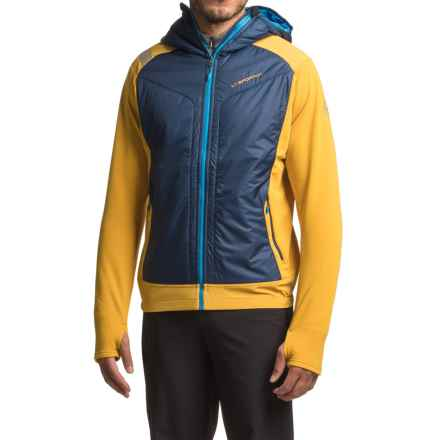 La Sportiva Primus 2.0 Hoodie - Full Zip, Long Sleeve (For Men) in Navy - Closeouts