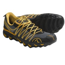 La Sportiva Quantum Trail Running Shoes (For Men) in Black/Yellow - Closeouts