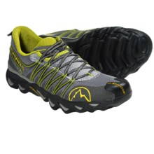 La Sportiva Quantum Trail Running Shoes (For Men) in Charcoal/Lime - Closeouts