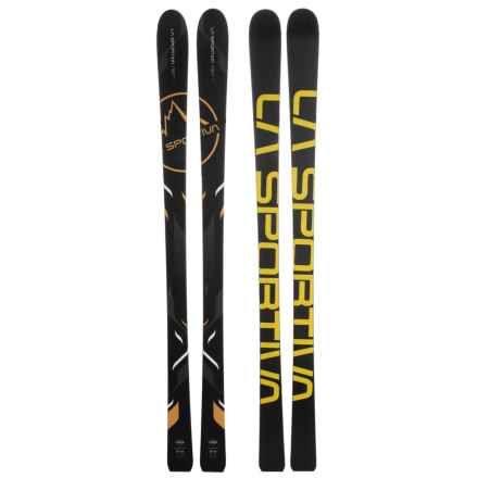 La Sportiva RST 2.0 Alpine Skis (For Men and Women) in Black/Yellow - Closeouts