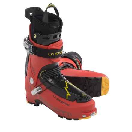 La Sportiva Sideral Alpine Touring Ski Boots - Dynafit Compatible (For Men) in Red - Closeouts