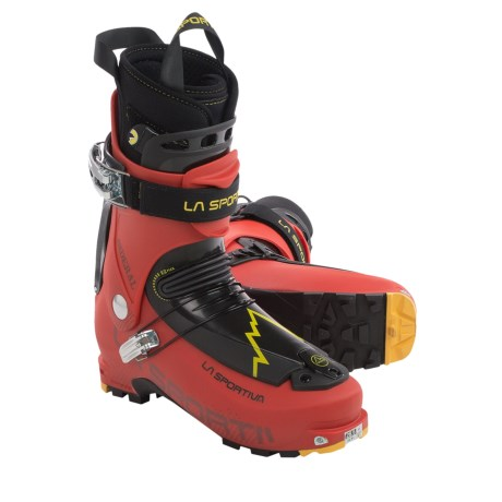 La Sportiva Sideral Alpine Touring Ski Boots - Dynafit Compatible (For Men) in Red
