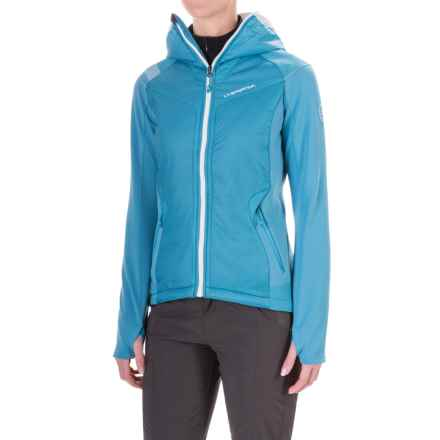 La Sportiva Siren 2.0 PrimaLoft® Hoodie - Insulated, Full Zip (For Women) in Blue Moon - Closeouts