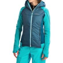 La Sportiva Siren Polartec® PrimaLoft® Jacket (For Women) in Fjord/Malblue - Closeouts