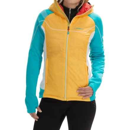 La Sportiva Siren Polartec® PrimaLoft® Jacket (For Women) in Malblue/Yellow - Closeouts