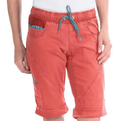 La Sportiva Siurana Shorts - Stretch Cotton (For Women) in Coral