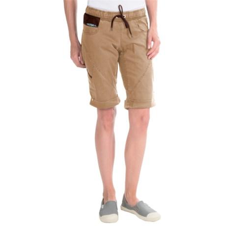 La Sportiva Siurana Shorts - Stretch Cotton (For Women) in Safari