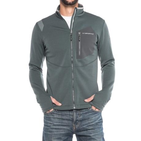 La Sportiva Spacer Jacket - Full Zip (For Men) in Grey