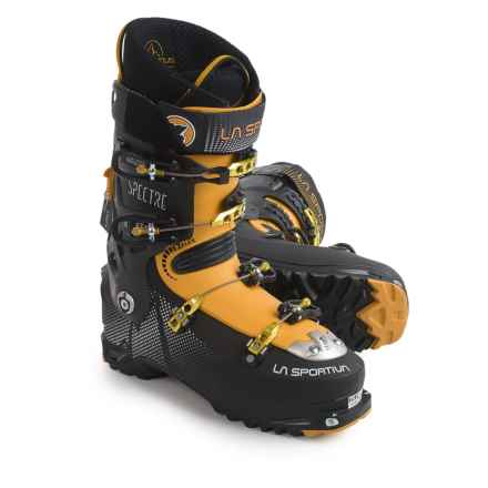La Sportiva Spectre LV Alpine Touring Ski Boots - Dynafit Compatible (For Men) in Black/Yellow - Closeouts