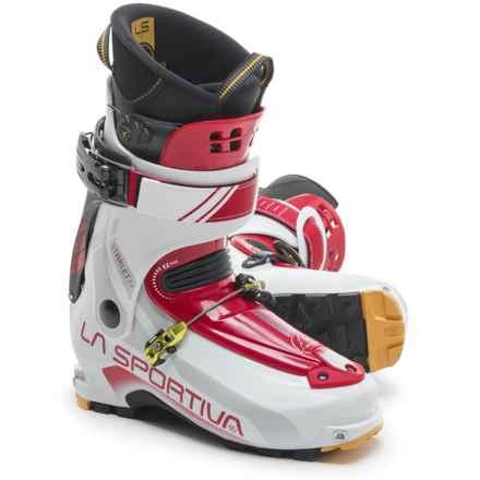 La Sportiva Starlet 2.0 Alpine Touring Ski Boots (For Women) in White/Berry - Closeouts