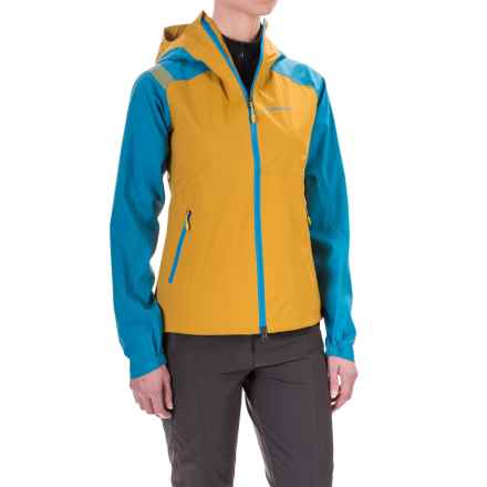 La Sportiva Storm Fighter 2.0 Gore-Tex® Jacket - Waterproof (For Women) in Papaya/Blue Moon - Closeouts