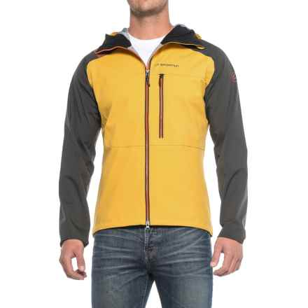 La Sportiva Storm Fighter 2.0 Gore-Tex® Jacket - Waterproof, Hooded (For Men) in Mustard - Closeouts