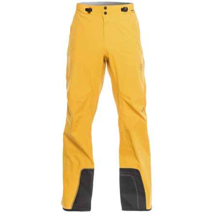 La Sportiva Storm Fighter 2.0 Gore-Tex® Ski Pants - Waterproof (For Men) in Mustard - Closeouts