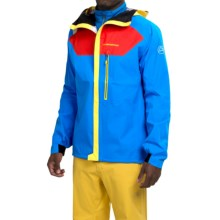 La Sportiva Storm Fighter Gore-Tex® Jacket - Waterproof (For Men) in Red/Blue - Closeouts
