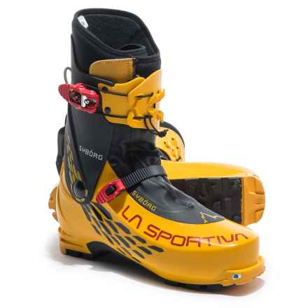 La Sportiva Syborg Alpine Touring Ski Boots (For Men) in Yellow/Black - Closeouts