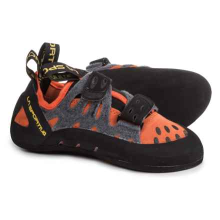 La Sportiva Tarantula Climbing Shoes (For Little and Big Kids) in Flame - Closeouts
